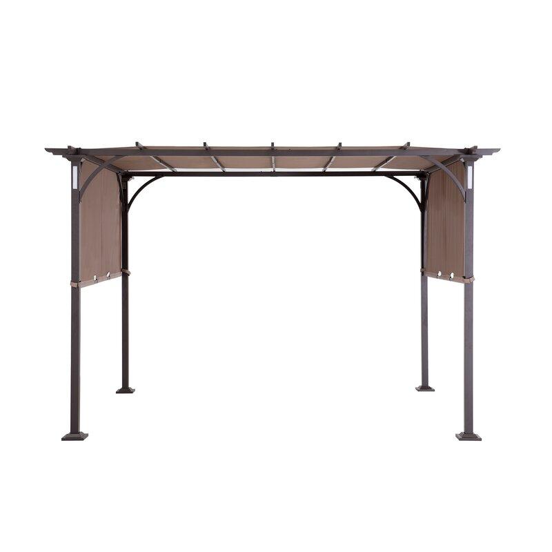 Replacement Canopy for Montara Lighted Pergola - Sunjoy Replacement Canopy For Montara Lighted Pergola Wayfair