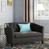 McMullen Chesterfield 49 Rolled Arm Loveseat by Andover Mills™