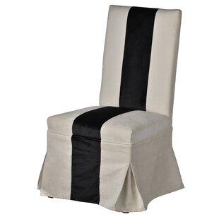 Everly Quinn Smoke High Back Chair
