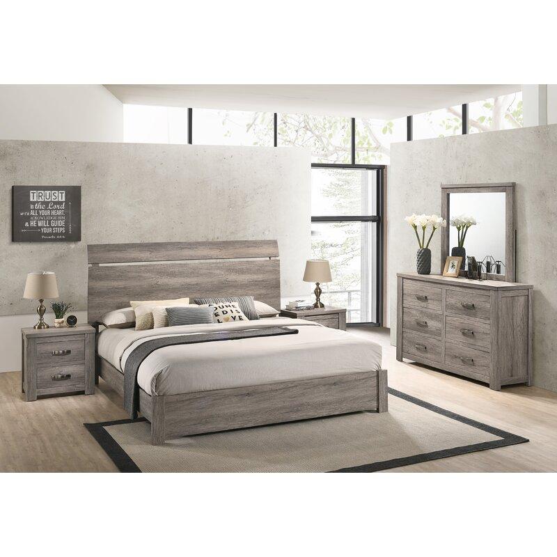 Foundry Select Teme Platform 5 Piece Bedroom Set Wayfair