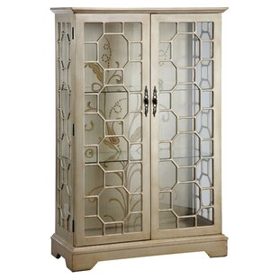 Cosmopolitan Lighted Curio Cabinet by Stein World