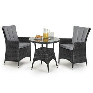 Trevethan 2 Seater Bistro Set With Cushions Image