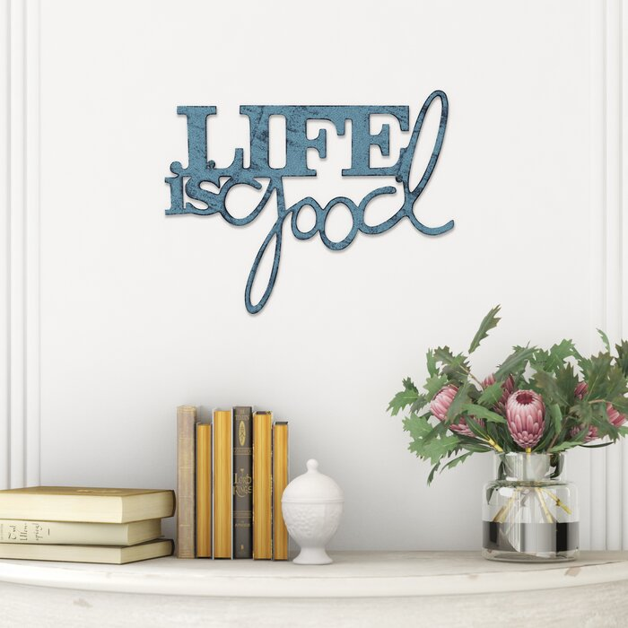 Life Is Good Metal Wall Décor