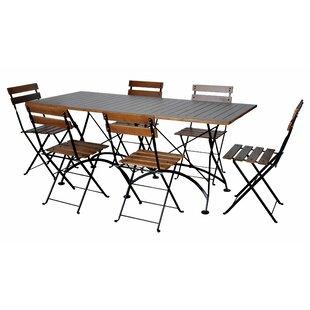 Furniture Designhouse European Café 7 Piece Dining Set