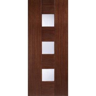 Carolina Glazed Oak Slab Internal Door by LPD Doors