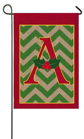 Evergreen Flag & Garden Holly Monogram Garden Flag & Reviews | Wayfair