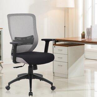 Lumbar Mid-Back Mesh Desk Chair by eurosports