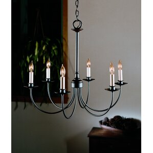 6light candlestyle chandelier - Hubbardton Forge