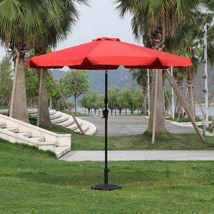 Lakin 9' Drape Umbrella by Darby Home Co