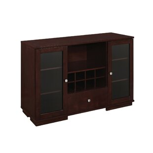 Obando Transitional Wooden Server Winston Porter