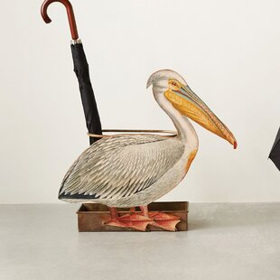 Diehl Pelican Umbrella Stand by Breakwater Bay