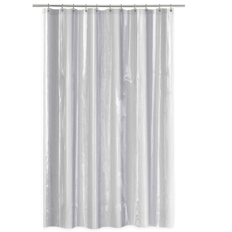 Symple Stuff Anti Mildew Single Shower Curtain Liner Reviews Wayfair
