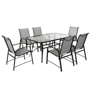 Osprey 7 Piece Patio Dining Set  sc 1 st  AllModern & Modern Outdoor Dining Sets | AllModern