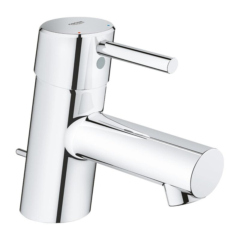 Grohe Concetto Single Hole Bathroom Faucet With Drain Assembly Reviews Wayfair