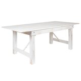 Ophélie Pine Solid Wood Dining Table by Gracie Oaks