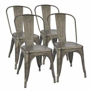 Retro Metal Kitchen Chairs Wayfair