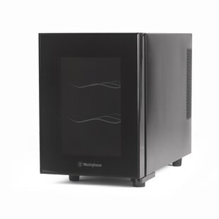 6 Bottle Thermal Electric Single Zone Freestanding Wine Cooler