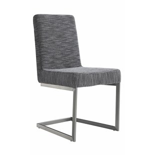 Wade Logan Justice Upholstered Side Chair (Set of 2)