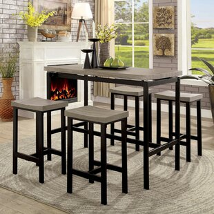 Marble 5 Piece Dining Set