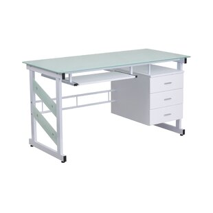 Highgate White Desk by Latitude Run Spacial Price