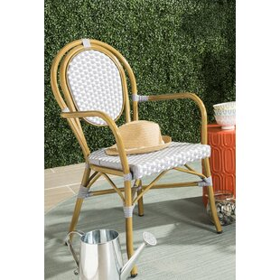 Shyanne Stacking Patio Dining Chair (Set of 2)