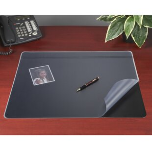 Reviews Eckenrode Lift Non-Glare Desk Pad Organizer by Rebrilliant