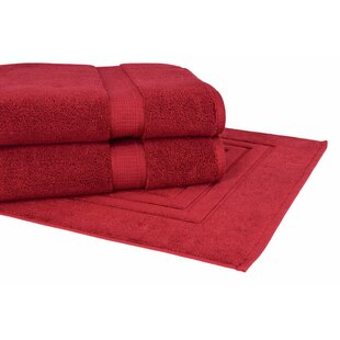 Bloomberg 3 Piece Terry Cloth Towel Set