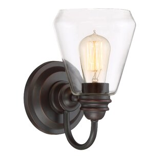 Savings Foundry 1-Light Armed Sconce By Designers Fountain