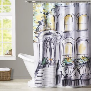 Atha Curb Appeal Single Shower Curtain