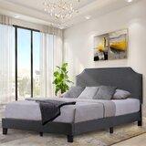 Dugway Upholstered Low Profile Platform Bed by Red Barrel Studio®