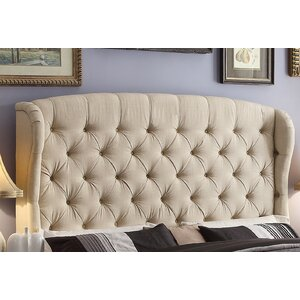 Leatham Upholstered Wingback Headboard