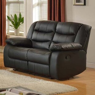 Koury Reclining Loveseat Red Barrel Studio