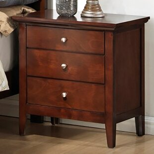 Great choice 3 Drawer Nightstand By LYKE Home