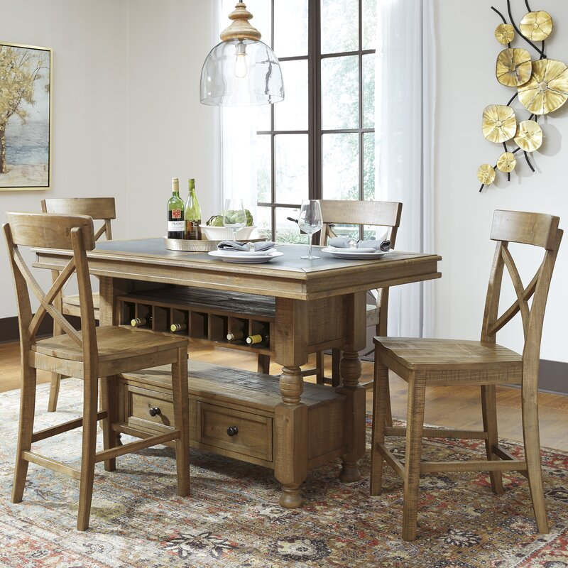 Signature Design by Ashley Trishley Counter Height Dining Table
