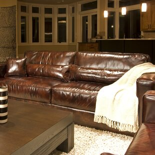 Laguna Leather Sofa by Elements Fine Home Furnishings