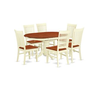 August Grove Piland 7 Piece Breakfast Nook Dining Set