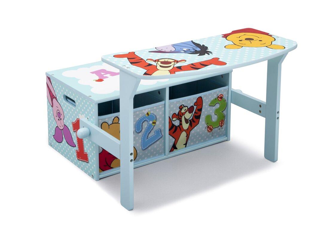Toy Bench Storage Part - 15: Deltachildren Winnie The Pooh Toy Storage Bench Reviews