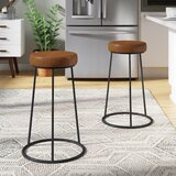 Arcola Bar & Counter Stool (Set of 2) by Ivy Bronx