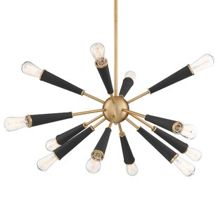 Brayden Studio Bathford 12-Light Chandelier