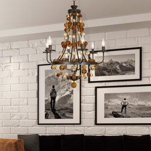 Eder 9-Light Chandelier by Bungalow Rose