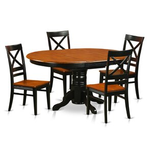 Attamore 5 Piece Dining Set byDarby Home Co