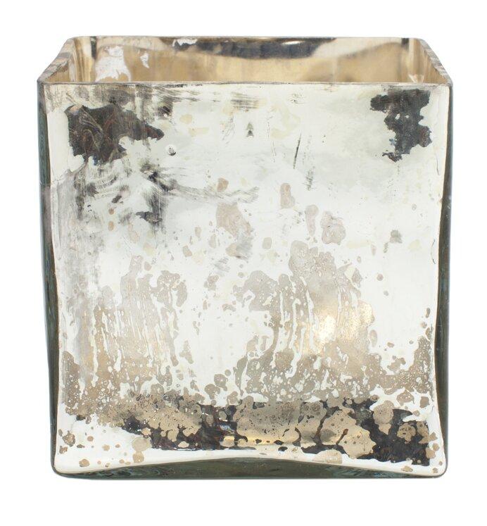 Mercury Glass Vase Wayfair