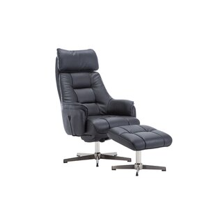 Ahmarie Auckland Manual Recliner With Footstool By 17 Stories