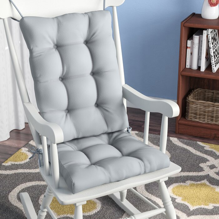 Admirable 2 Piece Indoor Rocking Chair Cushion Lamtechconsult Wood Chair Design Ideas Lamtechconsultcom