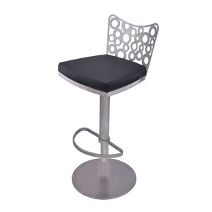 Jester Adjustable Height Swivel Bar Stool by RMG Fine Imports