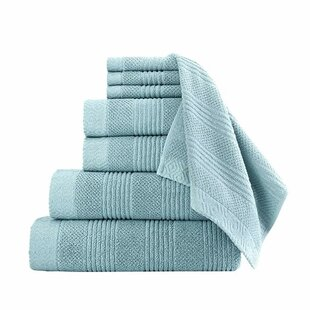 Cress 8 Piece Cotton Towel Set
