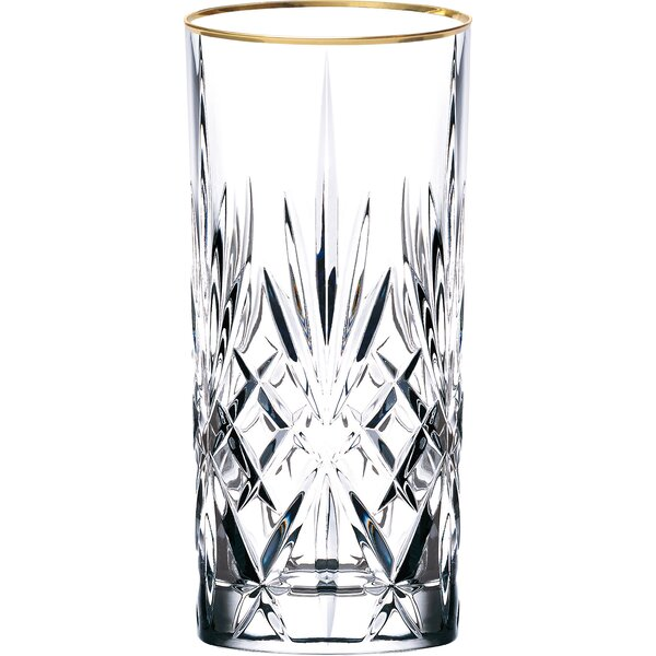 4aa38a0607d Siena Crystal Water Beverage Ice Tea Glass (Set of 4)