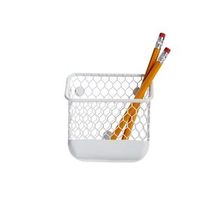 Design Ideas Omaha Magnetic Pencil Bin
