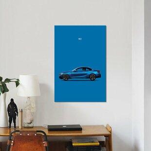 'BMW M2' Graphic Art Print on Canvas ByEast Urban Home