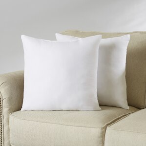 wayfair basics pillow insert set set of 2